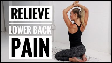 Back Stretches + Exercises // For LOWER BACK PAIN