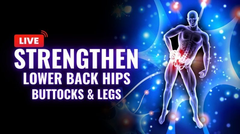 Sciatic Nerve Pain Relief | Strengthen Your Lower Back Hips Buttocks and Legs | Heal Nerves Faster