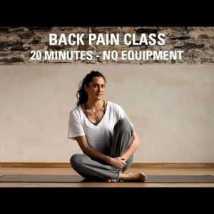 Back Pain Relief Exercises | 20 Minutes | No Equipment | Back Pain Exercises at Home for Men & Women