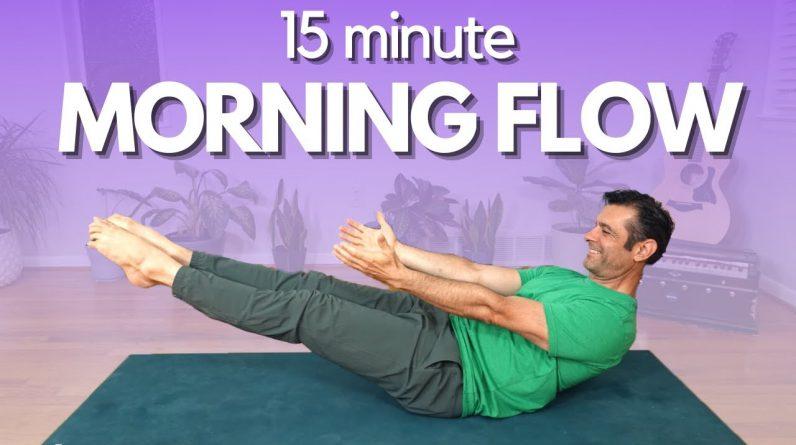 15 Minute Morning Yoga Flow | David O Yoga