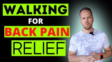 Walking For Lower Back Pain Relief | Here's my trick for using walking for #backpainrelief