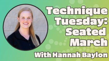 Technique Tuesday | Seated March for Lower Back Pain