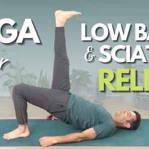 Yoga Flow for Low Back and Sciatica Relief | David O Yoga