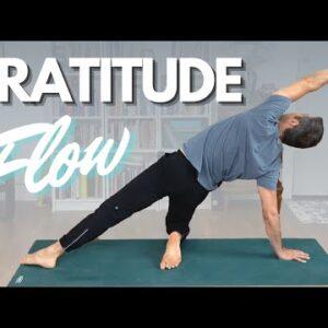 15 Minute Morning Yoga - Gratitude Flow | David O Yoga