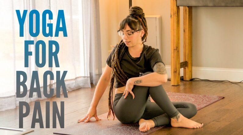 Yoga for Back Pain - Low Back, Upper Back, Neck & Shoulder Pain Relief Yoga || 30 minutes