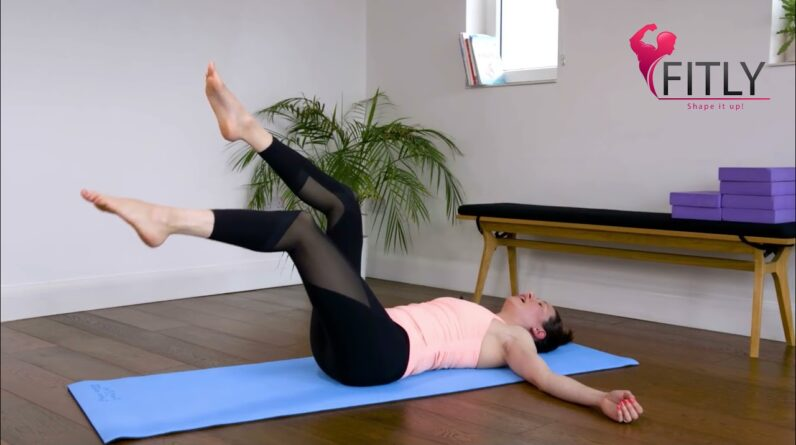 Back Pain Relief Exercises |  7 BEST Pilates Exercises Lower Back Stretches | Fitly