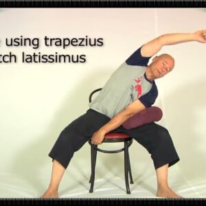 Simple Lower Back Pain Relief | Lower Back Stretches with Chair | Fitly | Back Pain Relief Exercise