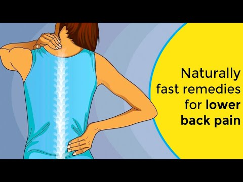 Naturally Fast Remedies For Lower Back Pain || How to Fix Low Back Pain (INSTANTLY)