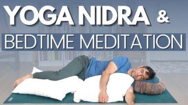 Yoga Nidra and Bedtime Meditation for Deep Sleep | David O Yoga