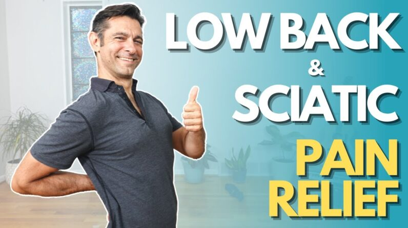 Slow Yoga Flow for Low Back and Sciatic Pain Relief and Prevention | David O Yoga