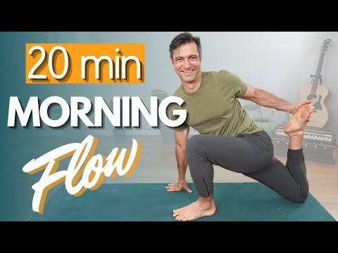 20 Minute Morning Yoga to INSPIRE Your Day | David O Yoga