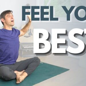 Morning Yoga Flow to Feel Your Best | David O Yoga