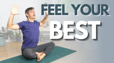 Morning Yoga Flow to Feel Your Best   David O Yoga
