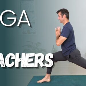 Slow and Juicy Yoga Flow for Teachers | David O Yoga