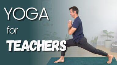 Slow and Juicy Yoga Flow for Teachers   David O Yoga