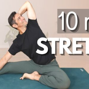 10 Minute Morning Yoga Whole Body Stretch
