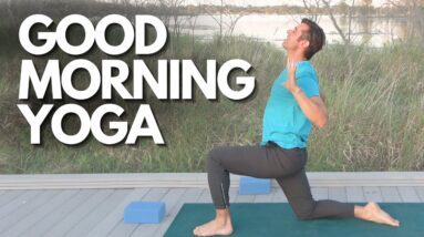 Peaceful Morning Flow by the Lake | David O Yoga