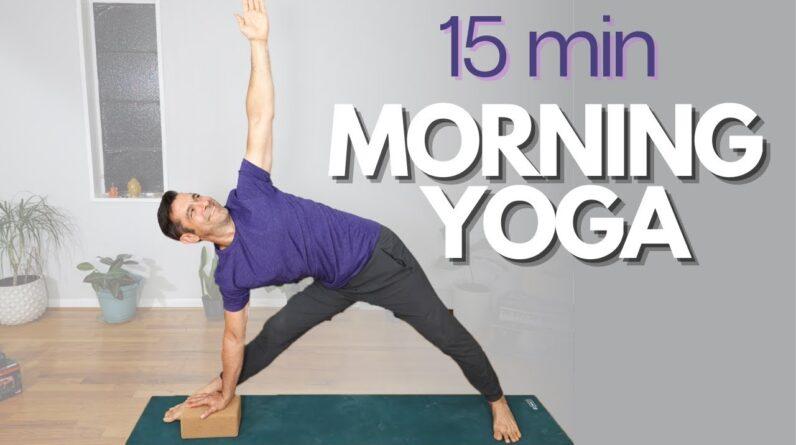 15 Minute Morning Yoga - JUICY Full Body Flow | David O Yoga