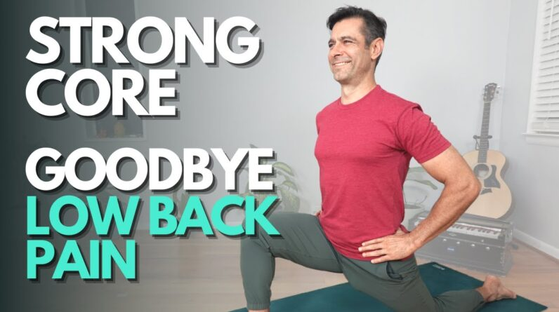 25 Minute Yoga Flow for Core, Hips and Low Back | David O Yoga