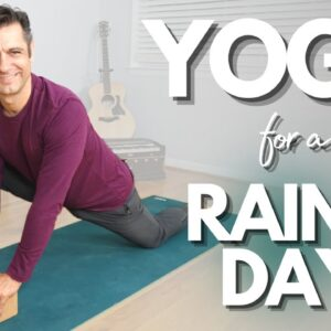 Warm and Cozy Yoga for a Rainy Day | David O Yoga